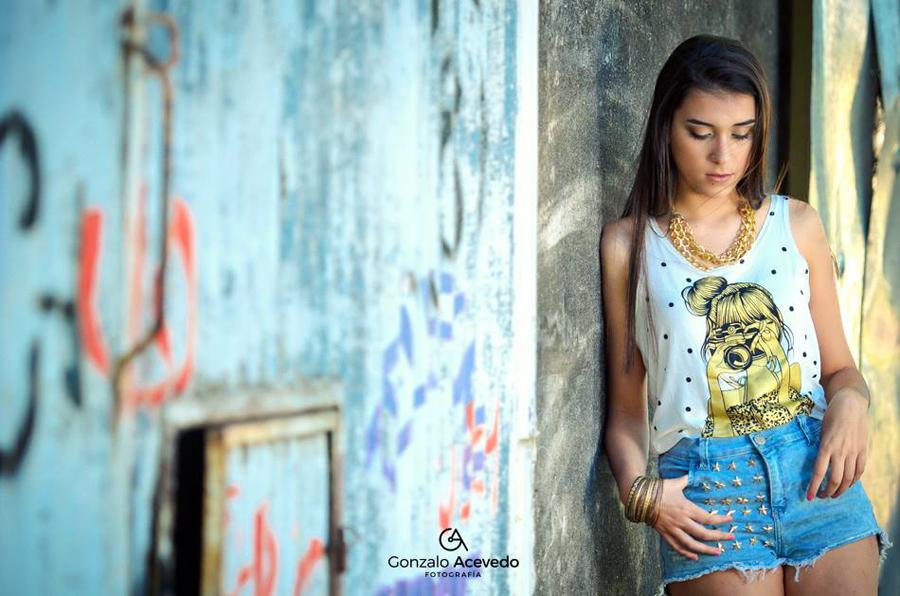 Sesión de fotos para book quince de Carla por Gonzalo Acevedo Fotografía
