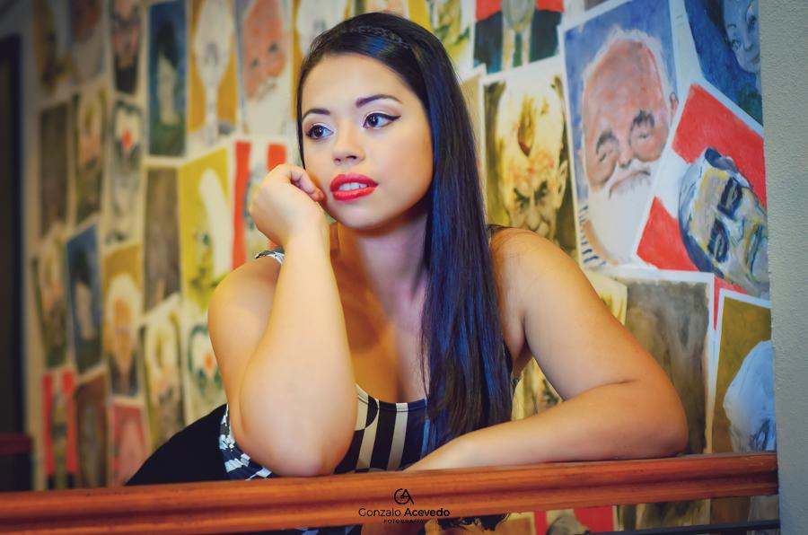 Book de exteriores de Carla por Gonzalo Acevedo Fotografia