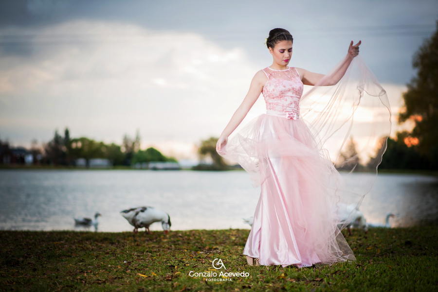 Trash the dress de Ani por Gonzalo Acevedo Fotografia