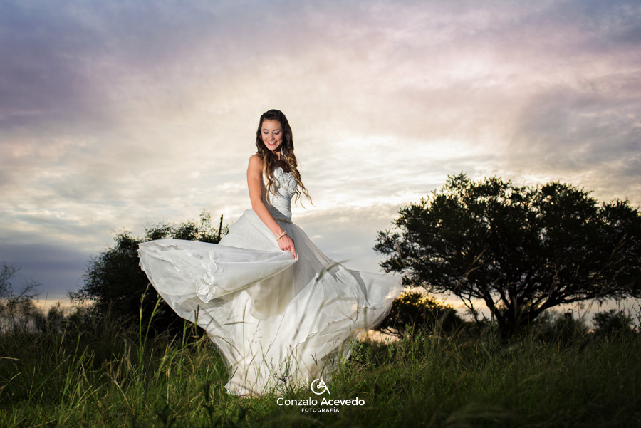 Book de exteriores fotografia trash the dress ttd por gonzalo acevedo fotografia