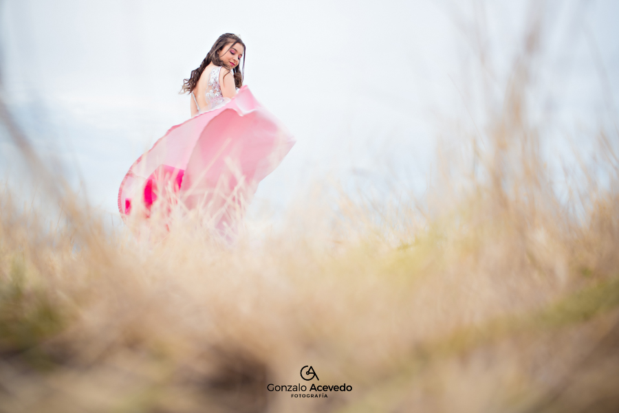 Book 15 post fiesta Trash the dress idea original unico Gonzalo Acevedo Fotografia