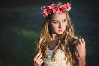 Book de 15 corona de flores campo aire libre #gonzaloacevedofotografia