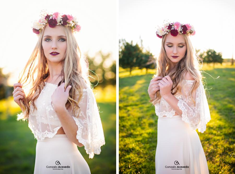 Marti book de 15 flores natural makeup ondas hairstyle ideas geniales originales #gonzaloacevedofotografia gonzalo acevedo