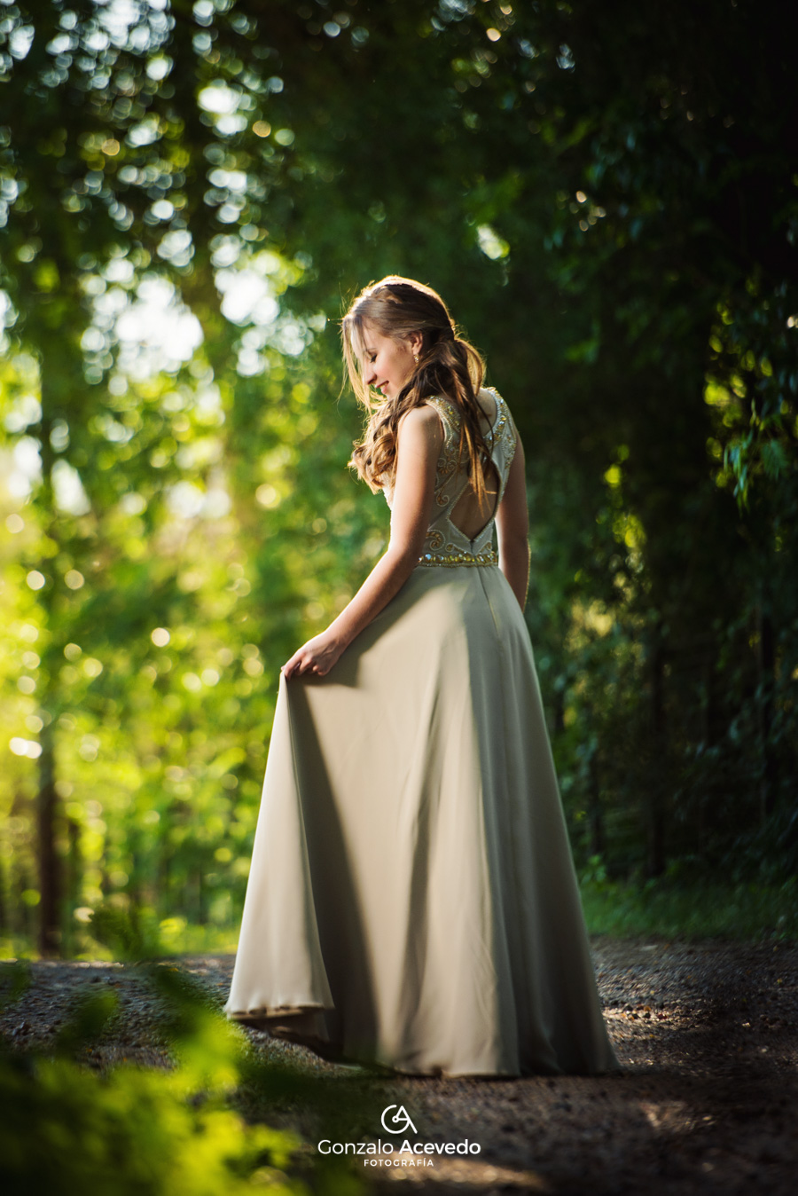 Pau book de 15 trash the dress fifteens vestido dia natural campo ideas geniales originales #gonzaloacevedofotografia gonzalo acevedo