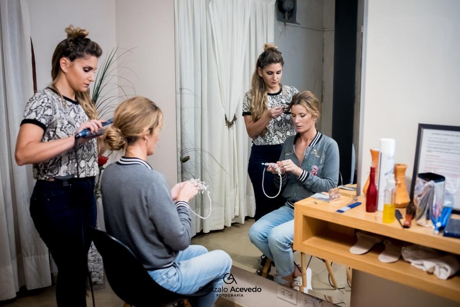 Caro y Ale boda previa peinado hairstyle makeup ideas originales #gonzaloacevedofotografia gonzalo acevedo