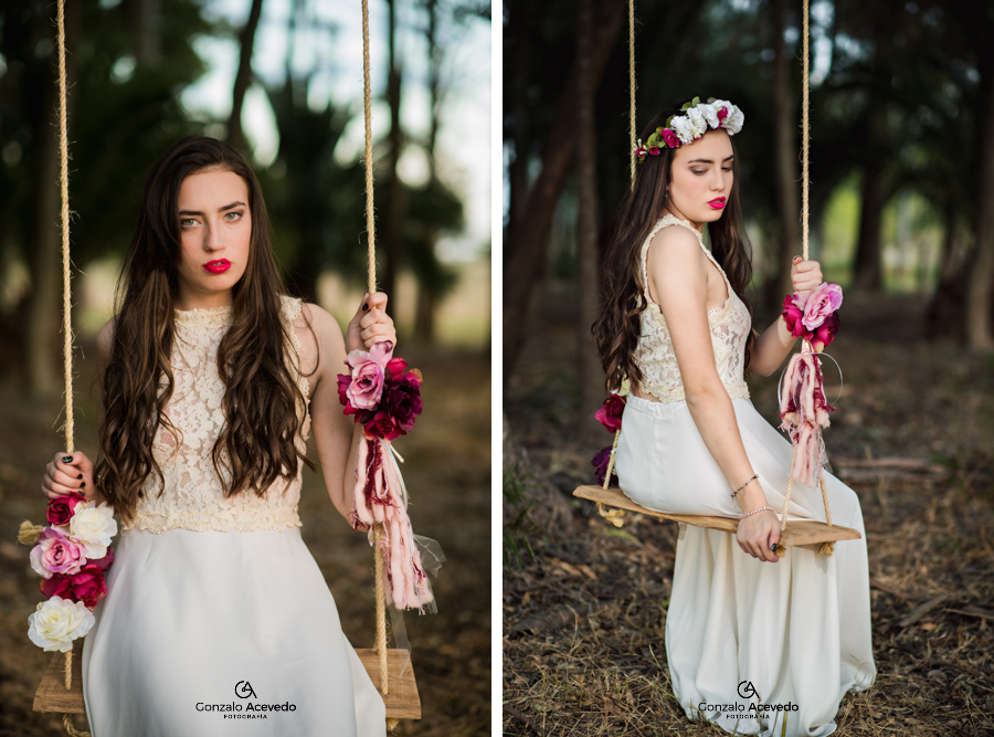 Tizi book 15 bosque verde flores drees vestido ideas urbano genial original #gonzaloacevedofotografia gonzalo acevedo gri becker