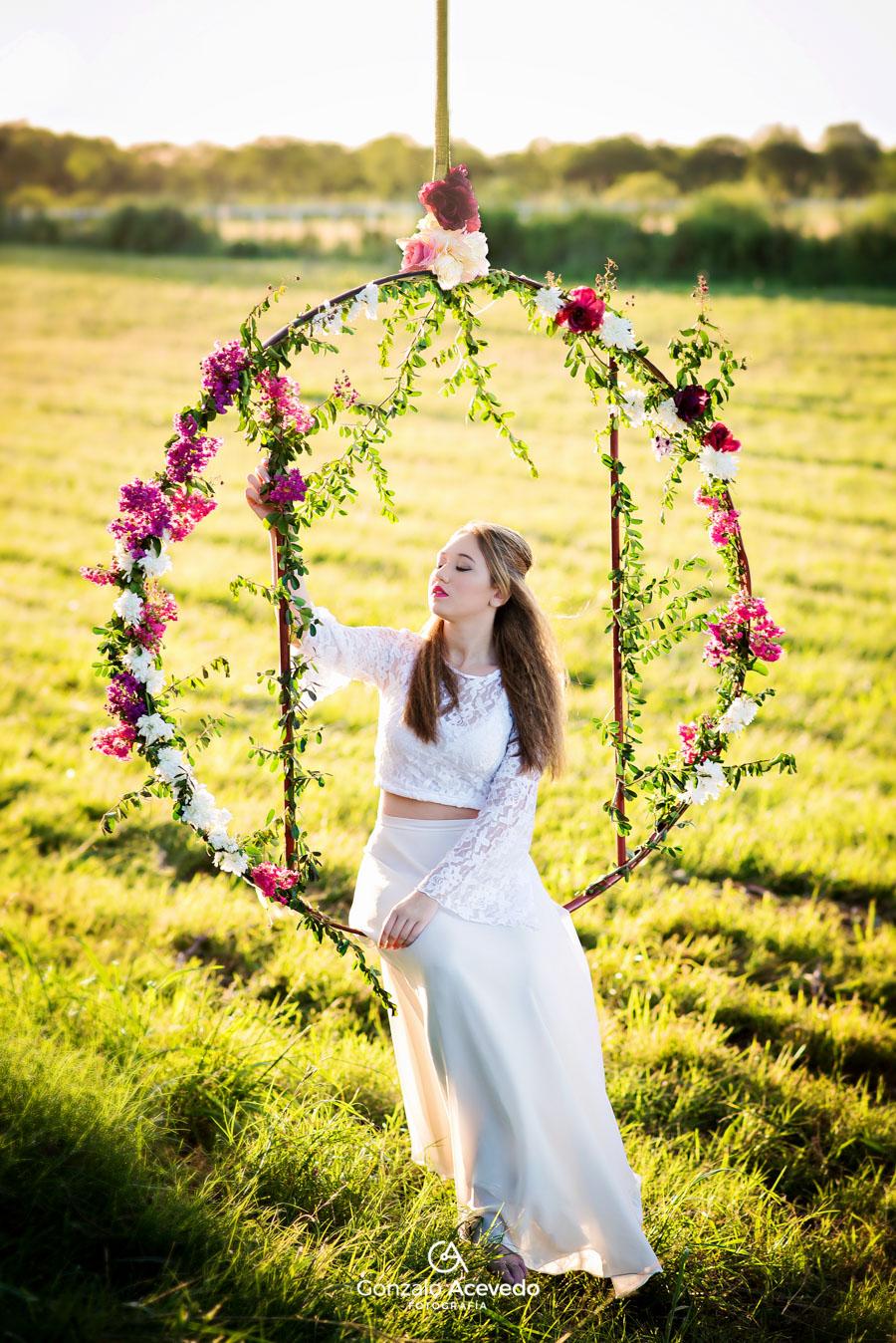 Vale book 15 look outfit romántico aro flores campo ideas únicas originales geniales #gonzaloacevedofotografia gonzalo acevedo gri becker