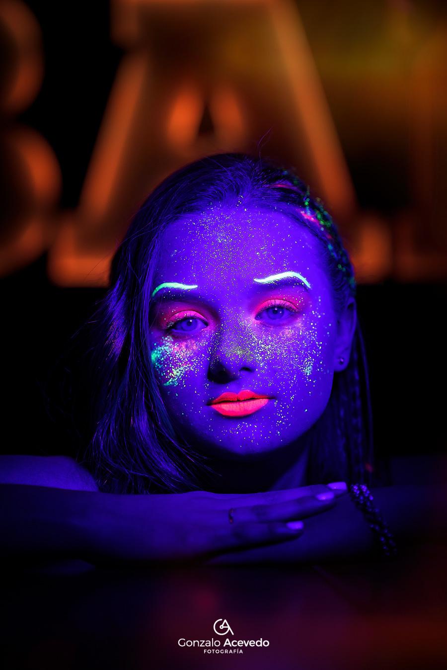 Book de 15 Fluor neon con actitud unico y diferente idea Gonzalo Acevedo #gonzaloacevedofotografia