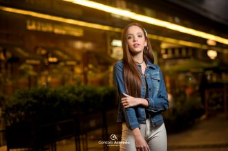 Magui Draiman book portrait influencer modelo estilo Gonzalo Acevedo urbano