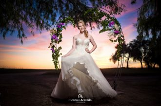 Book de 15 vestido de fiesta July Trash the dress Gonzalo Acevedo #gonzaloacevedofotografia