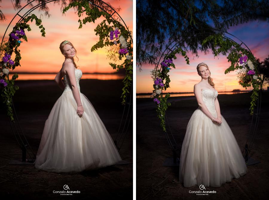 Book de 15 vestido de fiesta July Trash the dress Gonzalo Acevedo #gonzaloacevedofotografia