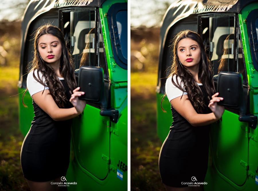 Book de 15 en un jeep con estilo #gonzaloacevedofotografia