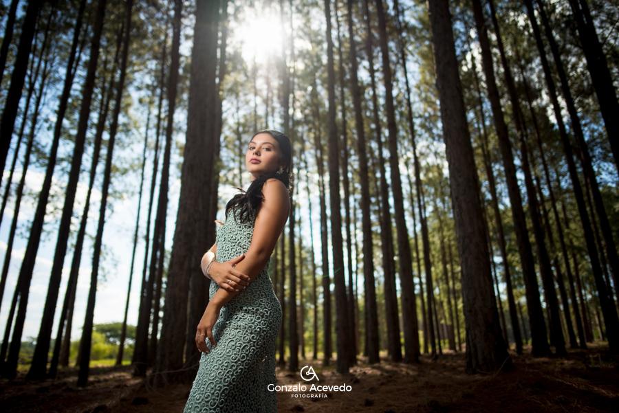 Book de campo con vestido elegante #gonzaloacevedofotografia