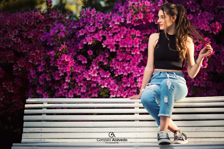 book de 15 de primavera con flores y urbano Gonzalo Acevedo