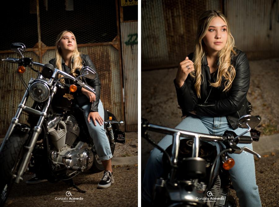 book urbano con actitud original con Harley Davidson Gonzalo Acevedo